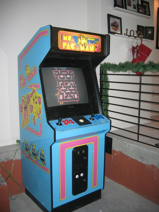 mame arcade cabinet ms pac arcade machine dusty amp marlina 23020