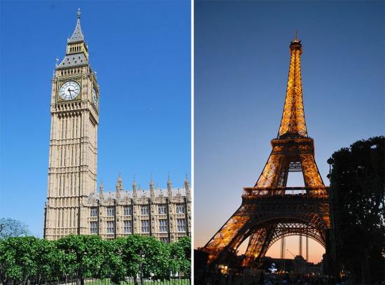 london-paris