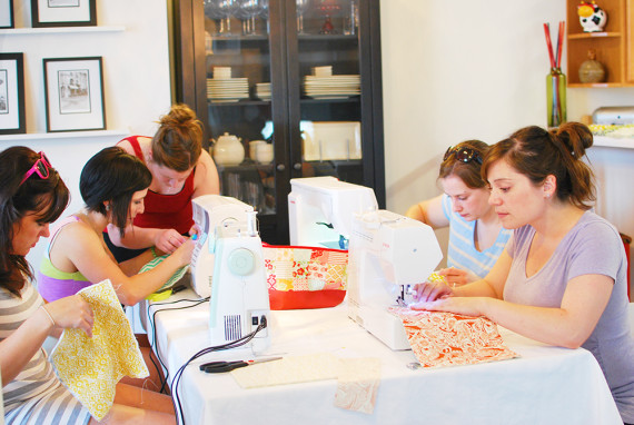 sewing party 8