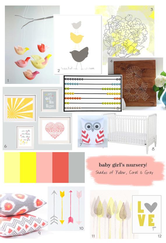 Nursery Moodboard