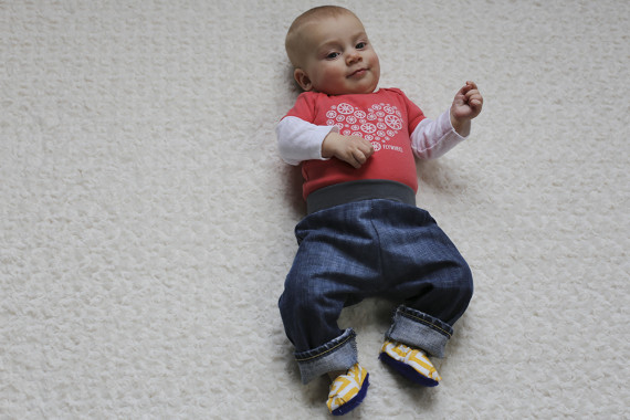 Baby Jeans Tutorial