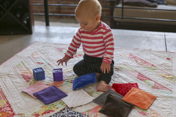 Infant Sensory Bags Tutorial