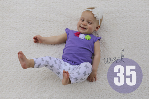 Weekly Baby Picture / Week 35
