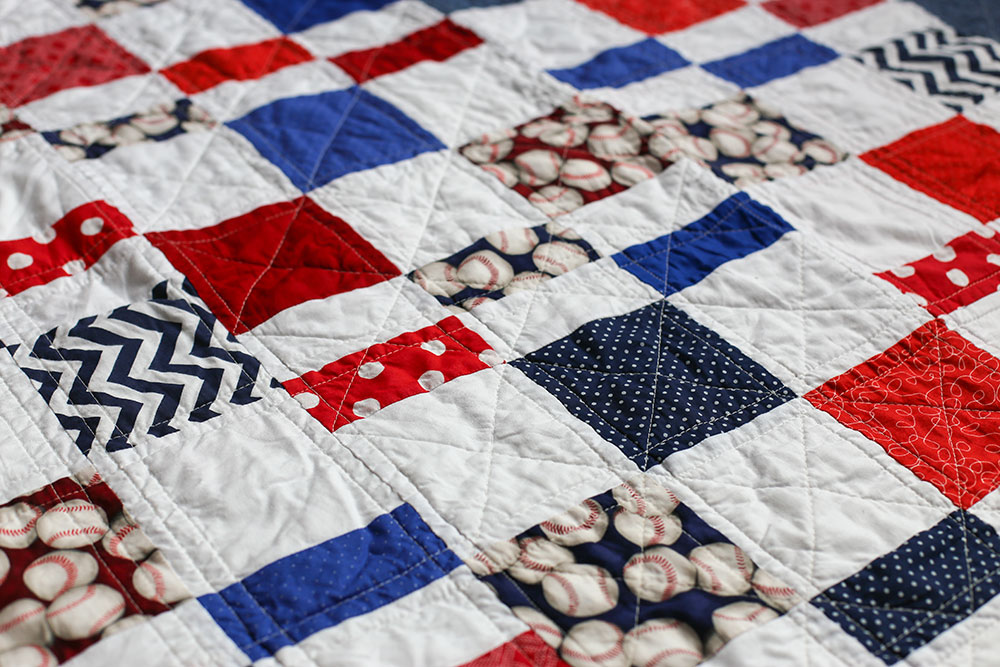 Quilts Dusty Marlina Inspiration Baseball Quilt Pattern
